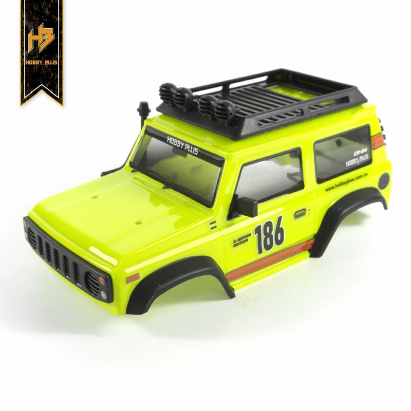 HBP #240140  G-Amour Edition Lexan Body with LED light ( Yellow )